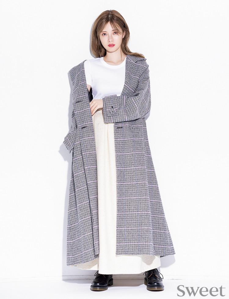 冬にお腹出して大丈夫!? 白石麻衣が注目しているモテ系ファッションアイテム