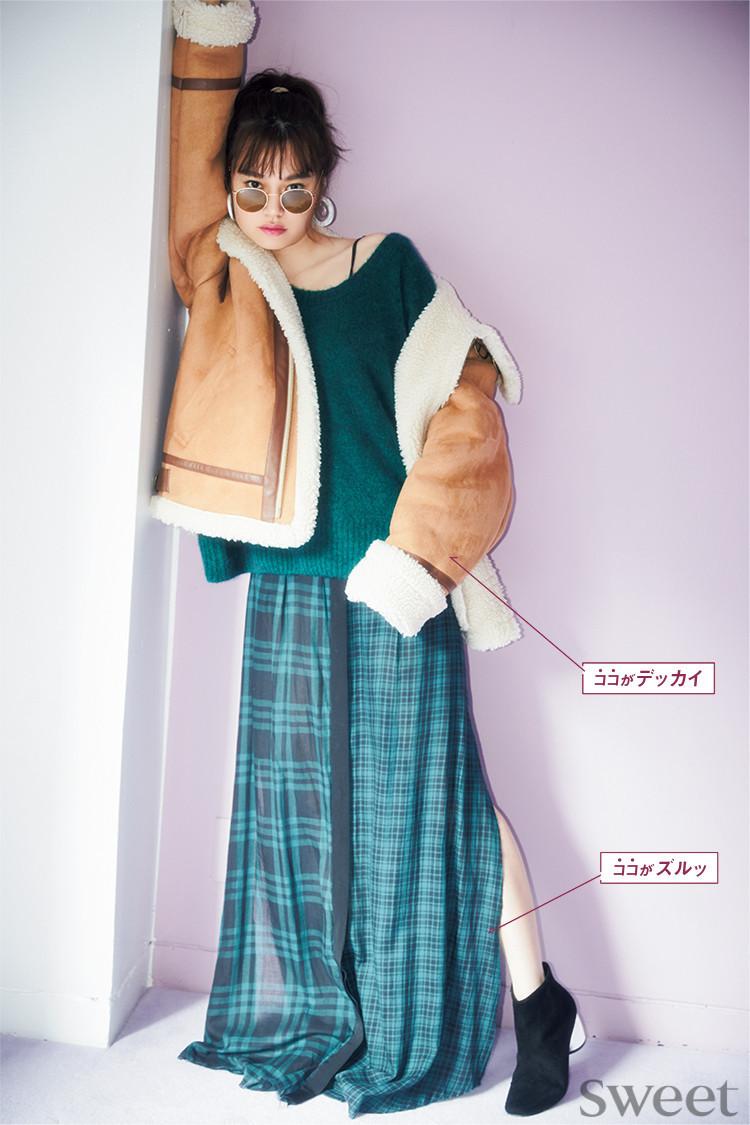 """大流行の""""デッカイ服""""はこう着こなす!やせ見えできるコーデ術"""