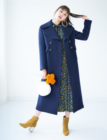 [H&M、Mila Owenほか]シンプルコーデなのにアガる!コート&ドレス集