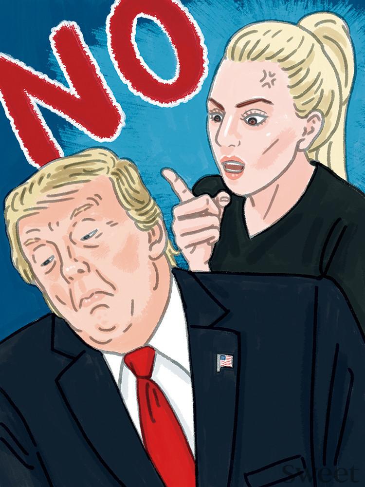 トランプ大統領がアカデミー賞で注目のガガ様に怒られちゃった!?
