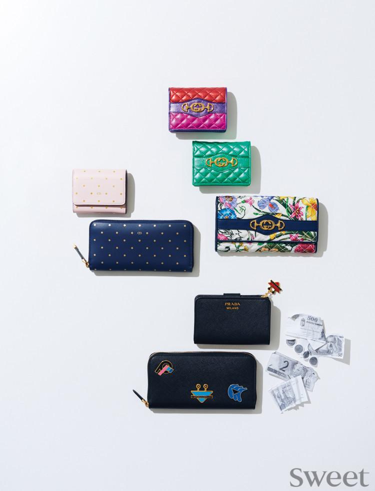 カブりづらい!? 憧れブランドの最新お財布をまとめてチェック☆