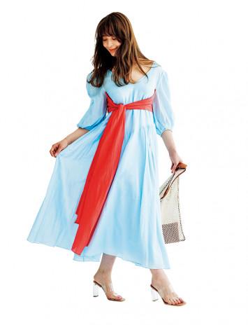 ドレスコレクションは100着!?人気モデルが私物ドレスを公開