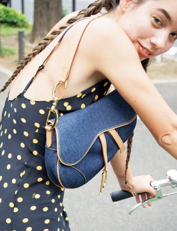ヘルシーでガーリーな夏ドレスの着こなし方☆