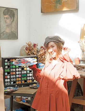 おっきいティラミスに大興奮♡紗栄子のパリ撮影裏話