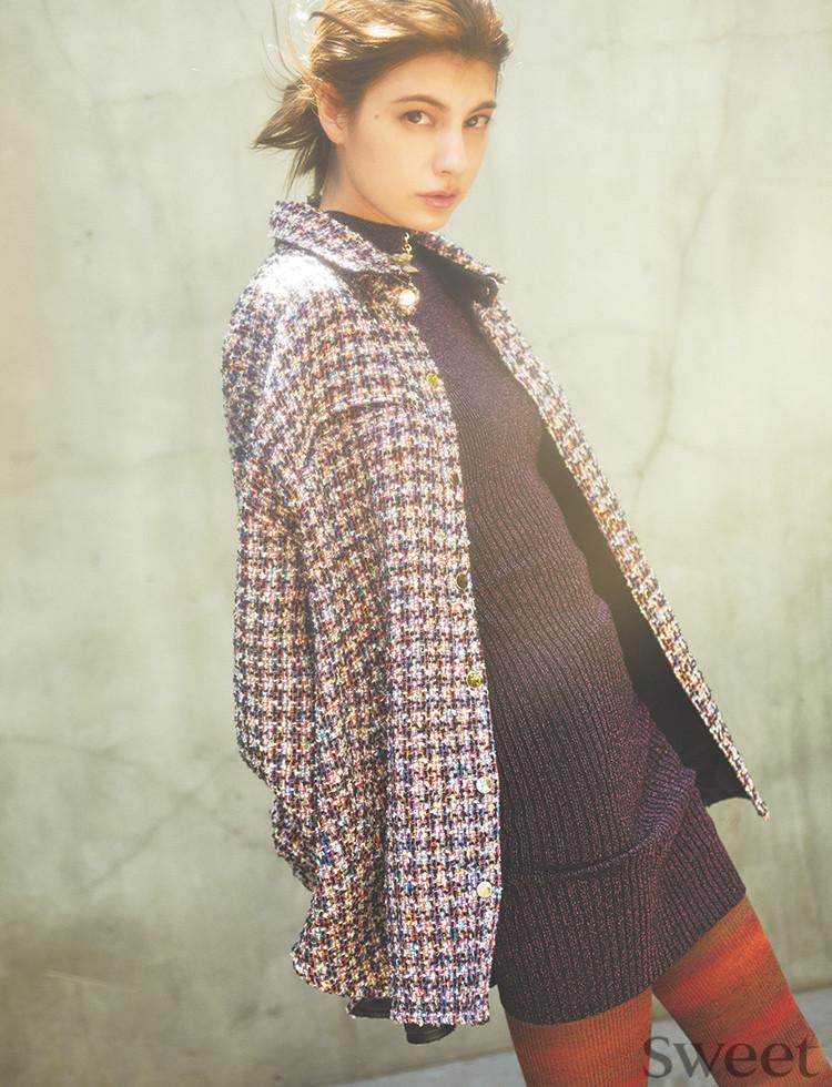 羽織れば即しゃれ☆大流行のシャツジャケットは華やか色で差をつけて