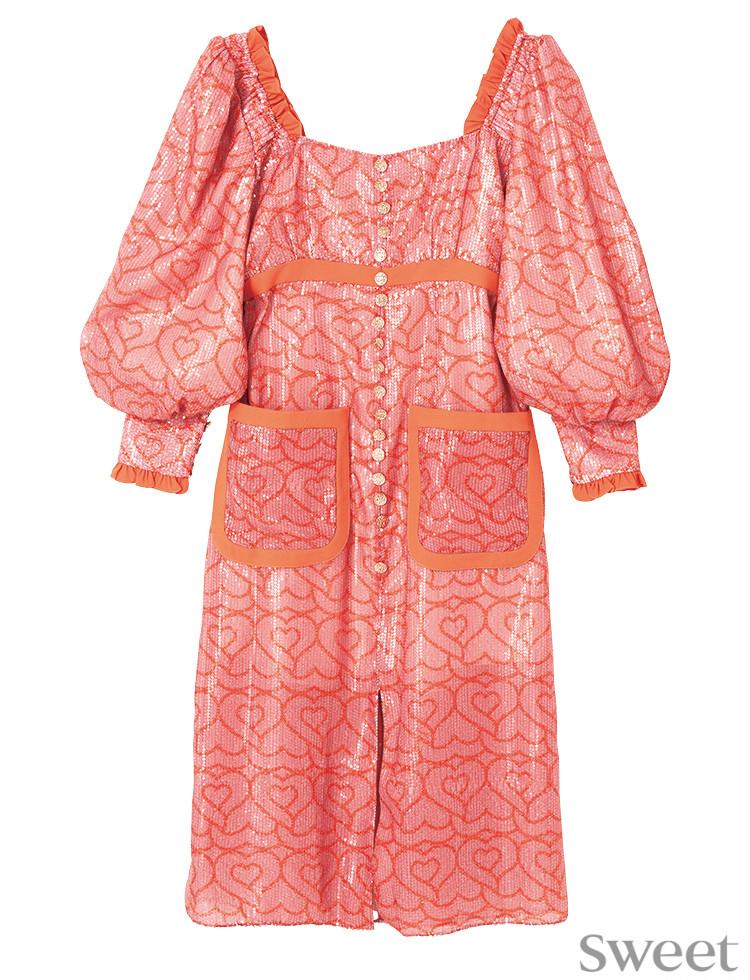 王道ピンクのドレスにキュン♡可愛すぎるくらいがちょうどいい!