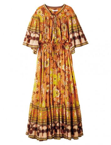 """ヴィンテージライクな""""70s""""ファッションがキテる! レトロ感が可愛くて新鮮♡"""