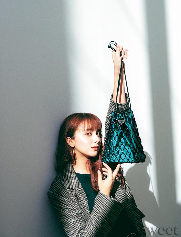 モデルがやっとの思いでゲットしたプラダのバッグがとんでもなく可愛い件♡
