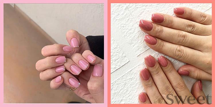 ピンクネイル2