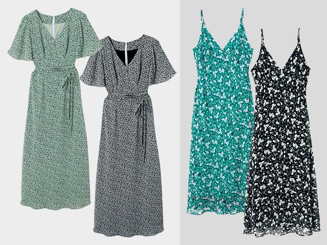 MERCURYDUO/RUFFLE SLEEVES DRESS/CAMISOLE DRESS