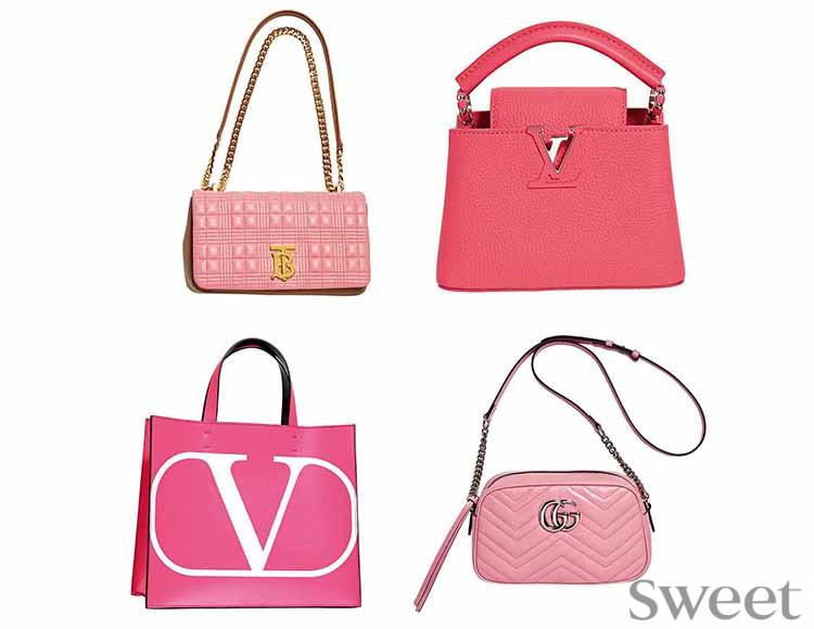 ピンクのアイコンバッグに大人も興奮!! もつだけでアガる人気ブランドの新作たち