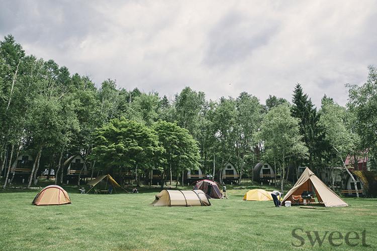 アーバンリサーチのキャンプ施設「TINY GARDEN蓼科」 デートにも女子旅にも◎