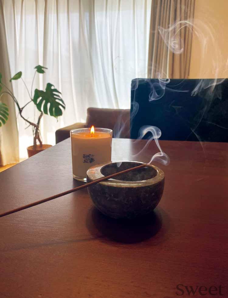 [E-girls佐藤晴美のリフレッシュ法]ヘッドスパ中の写真を公開!