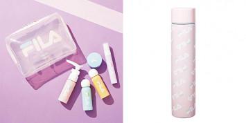 [付録]消毒液の携帯やマスクケースに◎ コロナ禍のいま使えるFILAコラボアイテム|sweet11月発売号