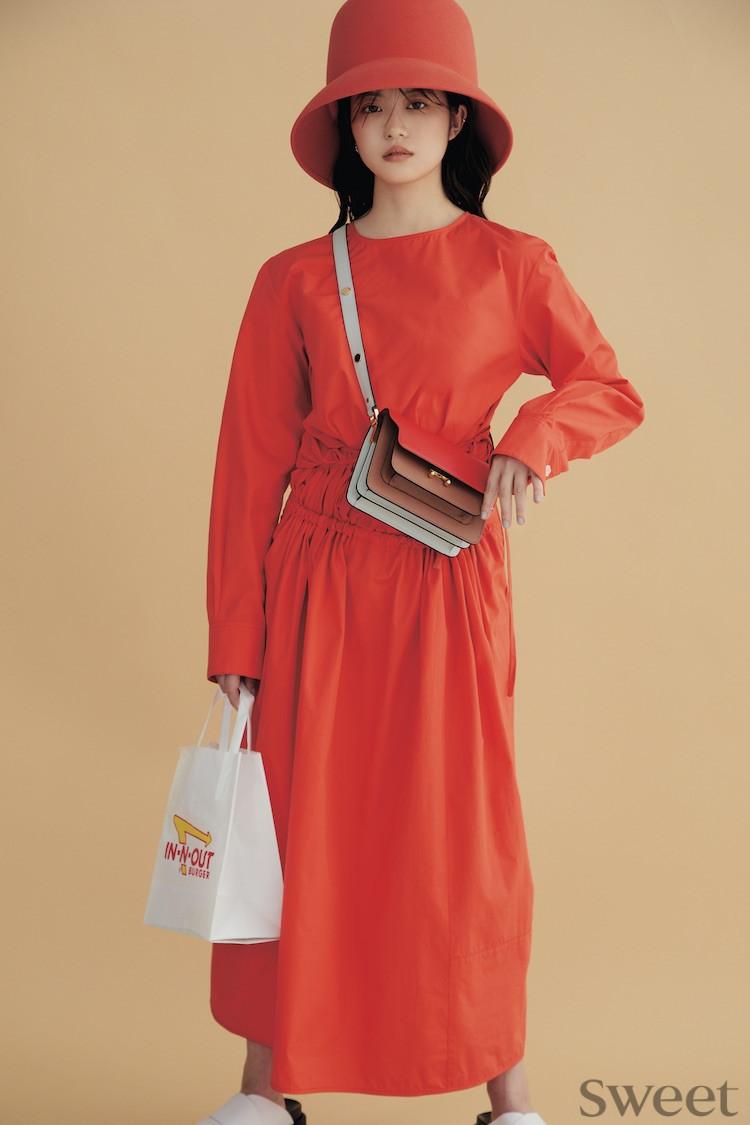 今田美桜が色のパワーを語る! この春の注目の6色 [インタビュー]