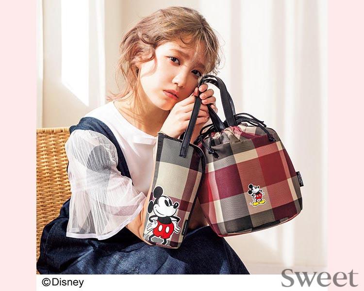 『sweet』5月号増刊の付録は「ミッキーデザインの保温保冷バッグ&ペットボトルホルダー」