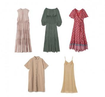 楽して可愛いを叶える最新ドレス♡ 洗える、シワにならないetc. イージーケアなアイテムリスト