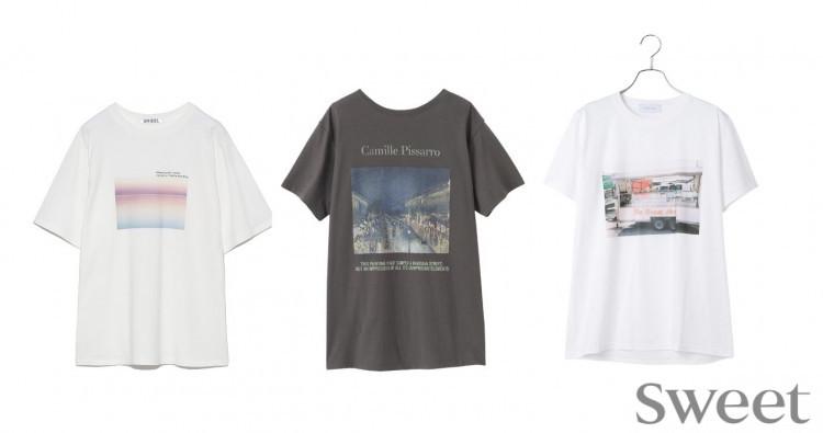 """今年のTシャツは""""映え""""基準でセレクト! 主役級アイテムをピックアップ"""