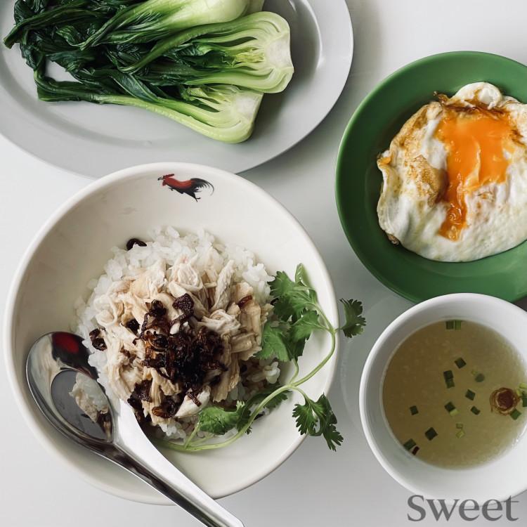 アジアンご飯レシピ(4) 台湾のチキンライス「鶏肉飯(ジーローファン」)