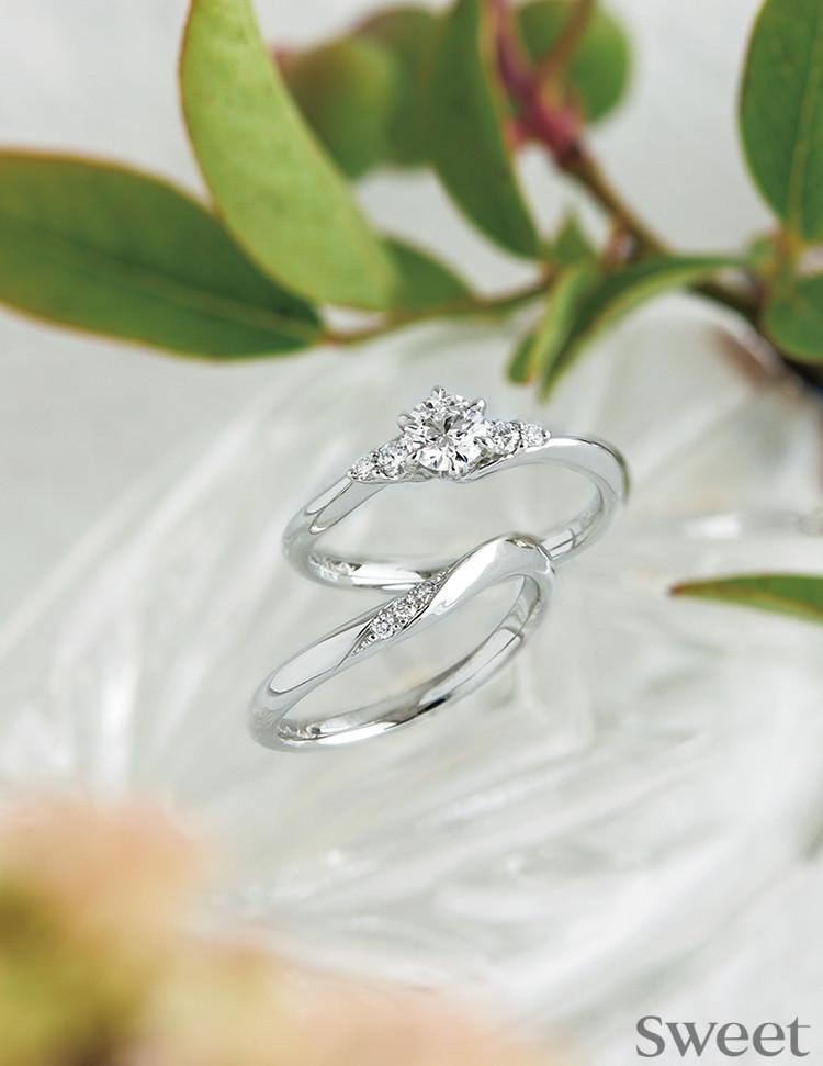【最新ウェディングガイド】いまどき花嫁はリングにこだわる♡